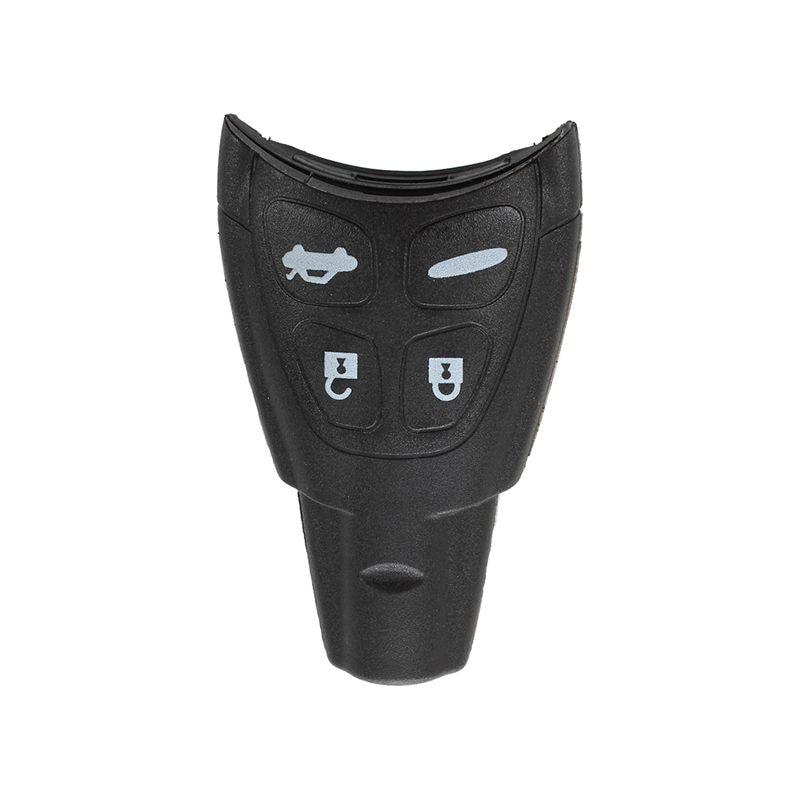 4 Button Key Shell Case Remote Shell PLIP Smart Remote Key for SAAB 9-3 9-5