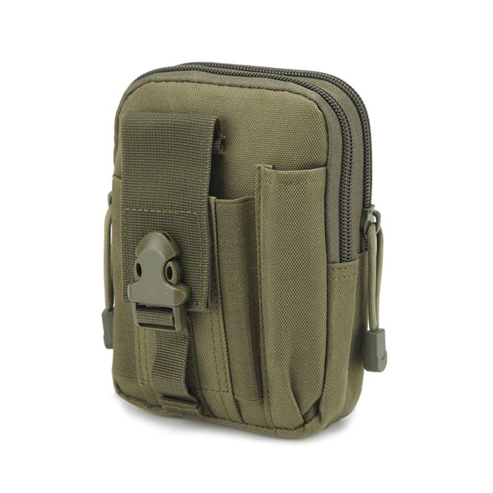 Practical Waterproof Outdoor Sports MOLLE Bag Mobile Phone Bag Waist Cover Mobile Phone Bag Leather Case Belt Bag Waist Bag