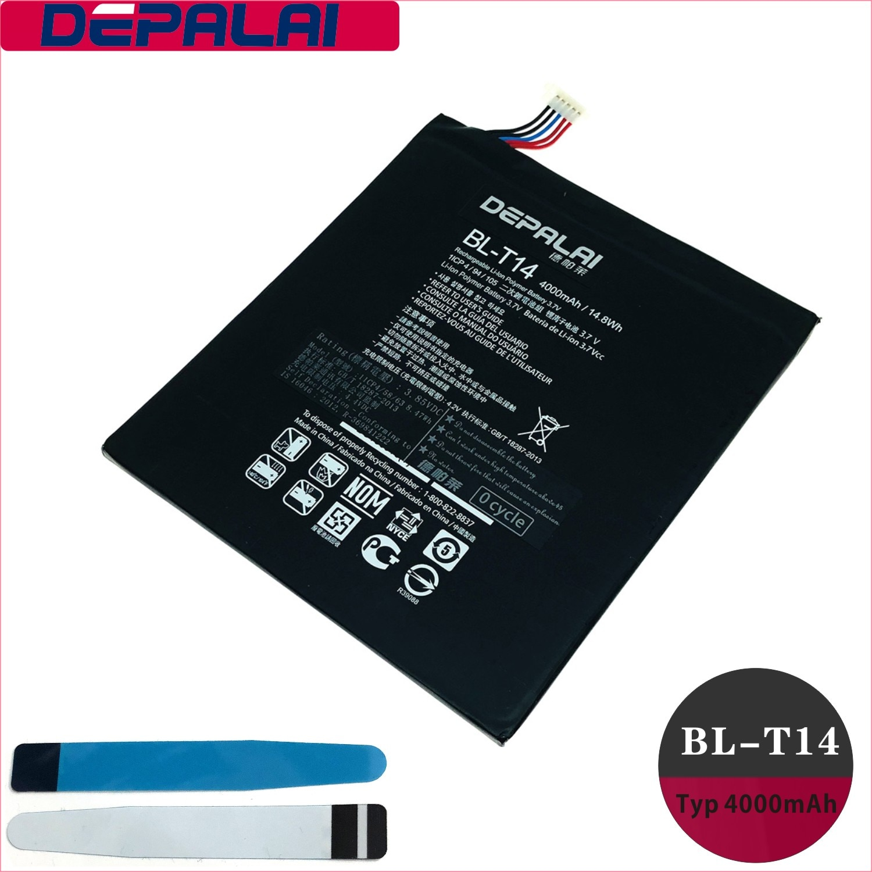 Batterie de BL-T14 pour LG GPAD G PAD F V480 V495 V496 V490 4200mAh téléphone Li-ion batterie de remplacement