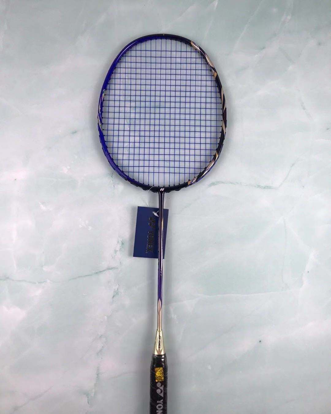 YY badminton racket sky axe 99 royal blue ultra-light full carbon single shot
