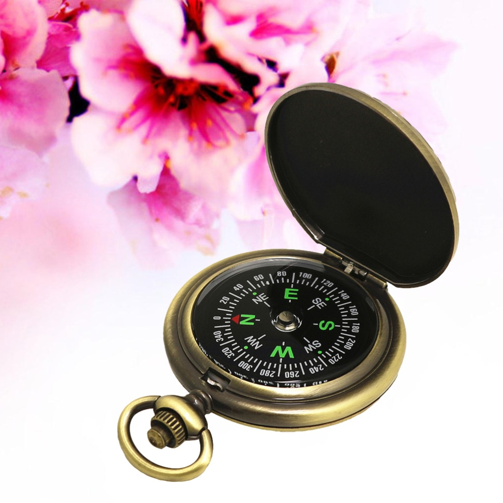 Vintage Gift Compass Pocket Watch Compass Outdoor Travel Mountaineering Camping Adventure Compass