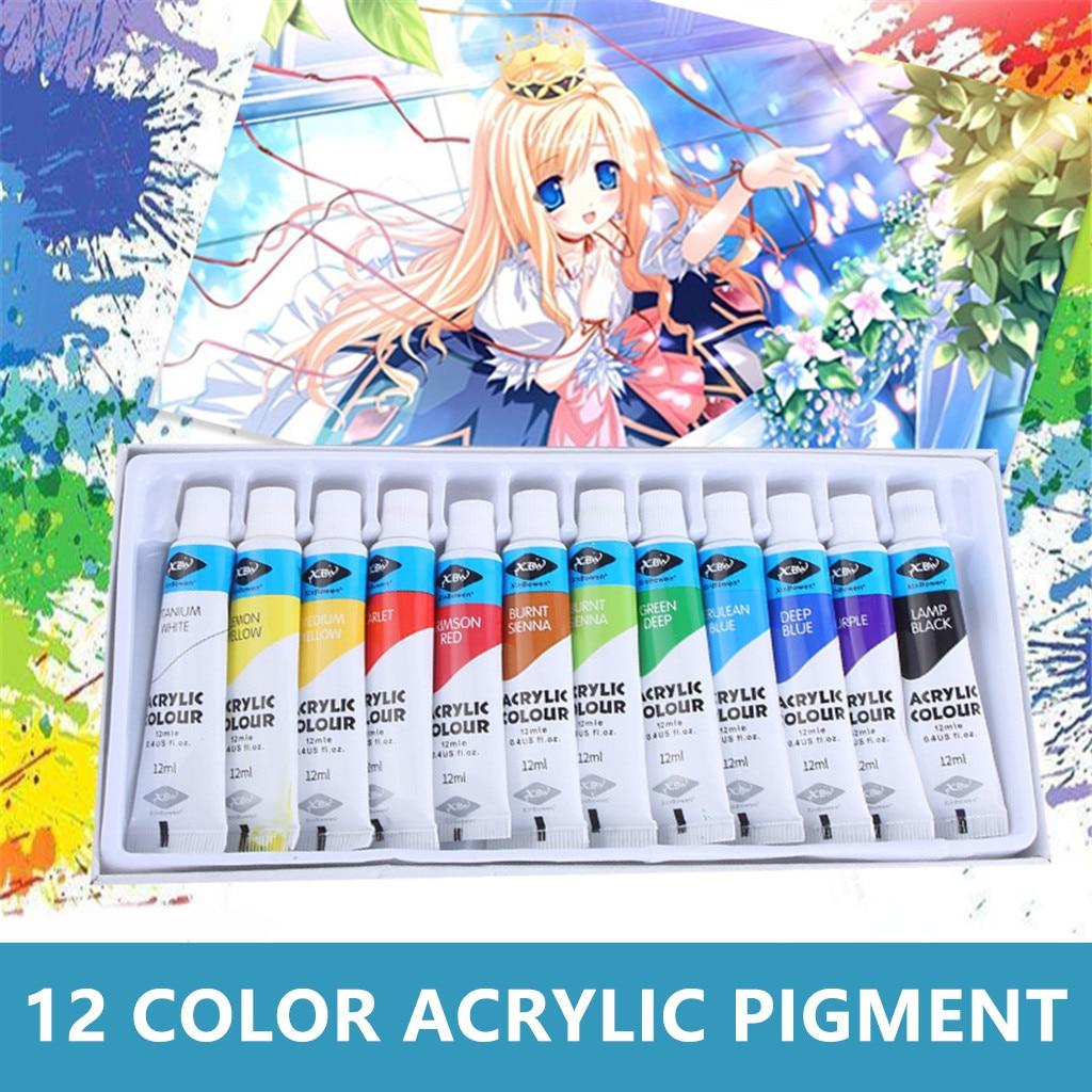 Инструменты для рисования «сделай сам», Краска Граффити, акриловая краска, 12 цветов, костюм, художественные принадлежности для рисования, к...