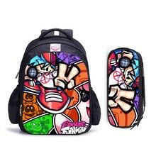 16 Inch Game Friday Night Funkin Children School Bag Orthopedic Backpack Student Boy Girl Mochila In