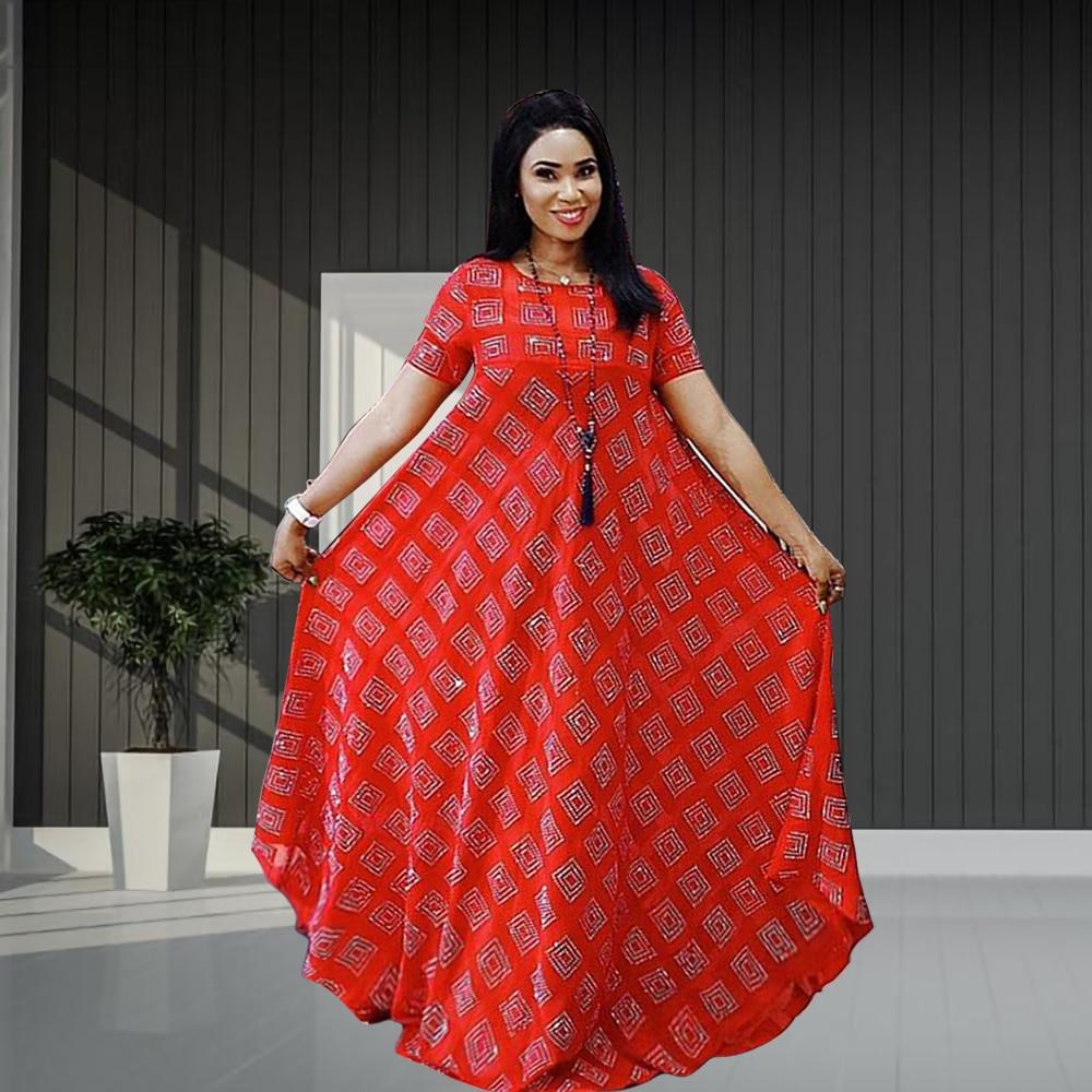 Халат Abaya Dubai, свободное платье с квадратным рисунком в африканском стиле, мусульманское вечернее платье, европейская одежда, американская о...