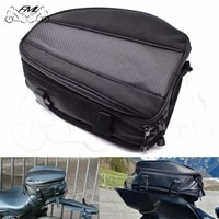 carbon fiber motorcycle tail package rear seat hangback bag after bagsrain cover for r1 r6 fz1 mt09 mt07 fz6 xj6 z800 r3 cb650f