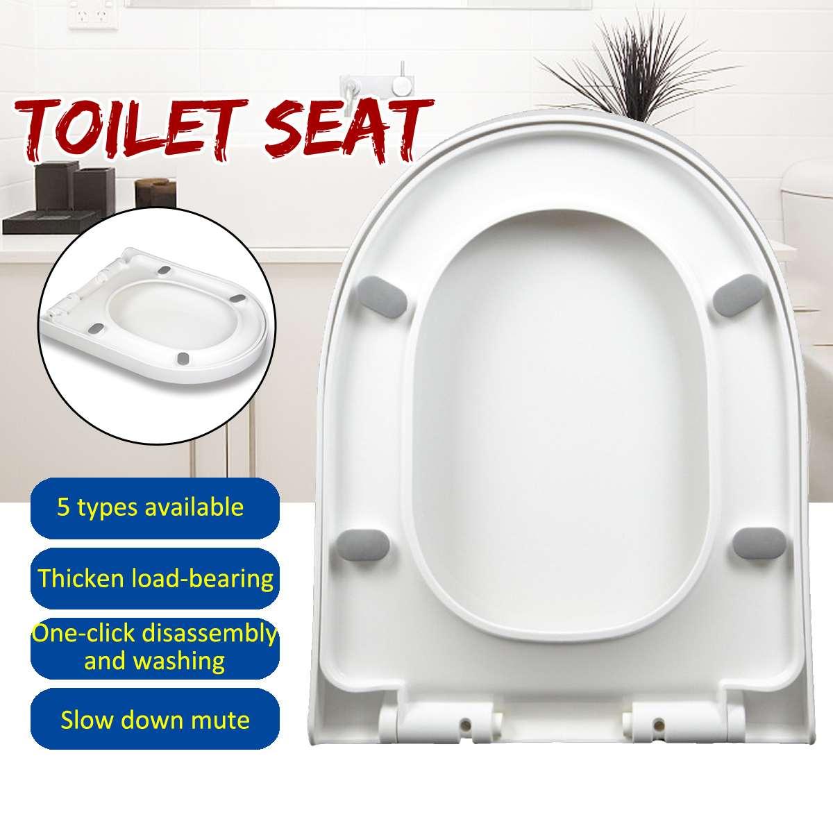 1 قطعة U شكل الطفل الكبار مقعد المرحاض مع الطفل قعادة غطاء التدريب PP المواد مقاعد مزدوجة آمنة مريحة للأطفال الكبار