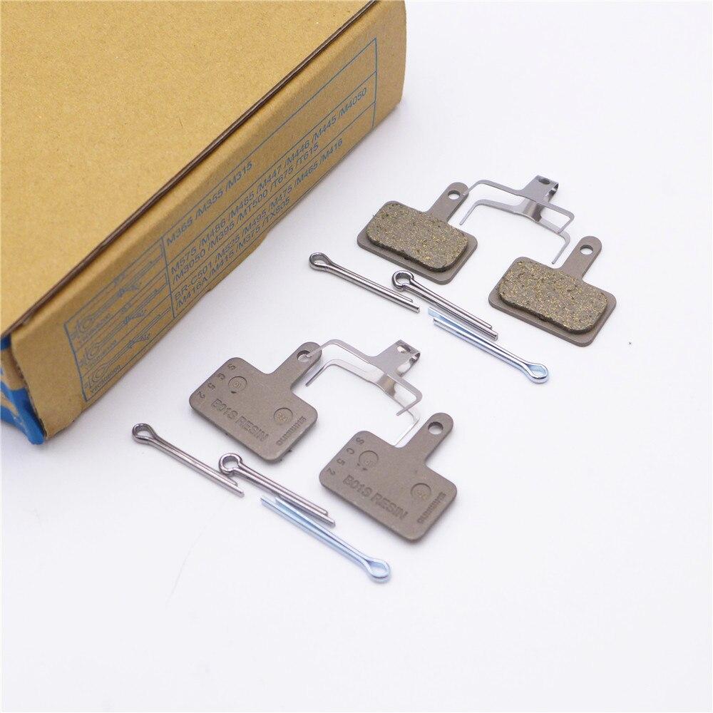 SHIMANO B01S Original Disc Brake Resin Pads For Alivio Acera M445/M395/M355/M315/M447/M396/M4050/M3050/T615/M475/M375