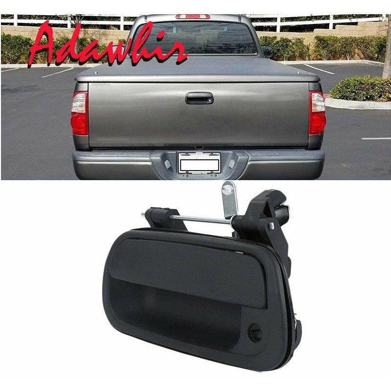 Porta traseira do carro punho liso preto exterior para toyota tundra 000 2001 2002 2003 2004 2005 2006 69090-0c030-c0