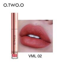 O.TWO.O 12 colori Best Vendita Calda Trucco Cosmetici Lip Gloss Lunga Durata Impermeabile facile da Indossare Rossetto Opaco
