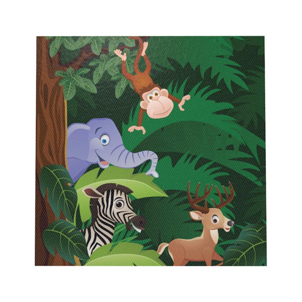 Animal Jungle Theme Paper Towels Color Printed Tissue Paper Towels High-end Paper Towels Children's Decorative Paper A7-5