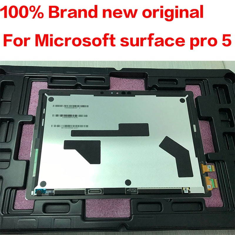 Original Für Microsoft oberfläche pro5 pro 5 Modell 1796 LP123WQ1 lcd display touch screen glas sensor digitizer tablet assembly