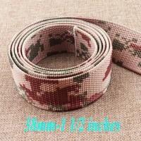 38mm nylon webbing belt buckle waistband lanyard webbing bag purse leash supplies army style webbing tote bag 1 12