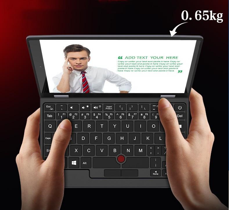2021 nova 7 10 Polegada Mini Computador Portátil Windows Pocket PC Netbook Notebook Intel J3455 ordinateurs portáteis ноутбук laptop gamer