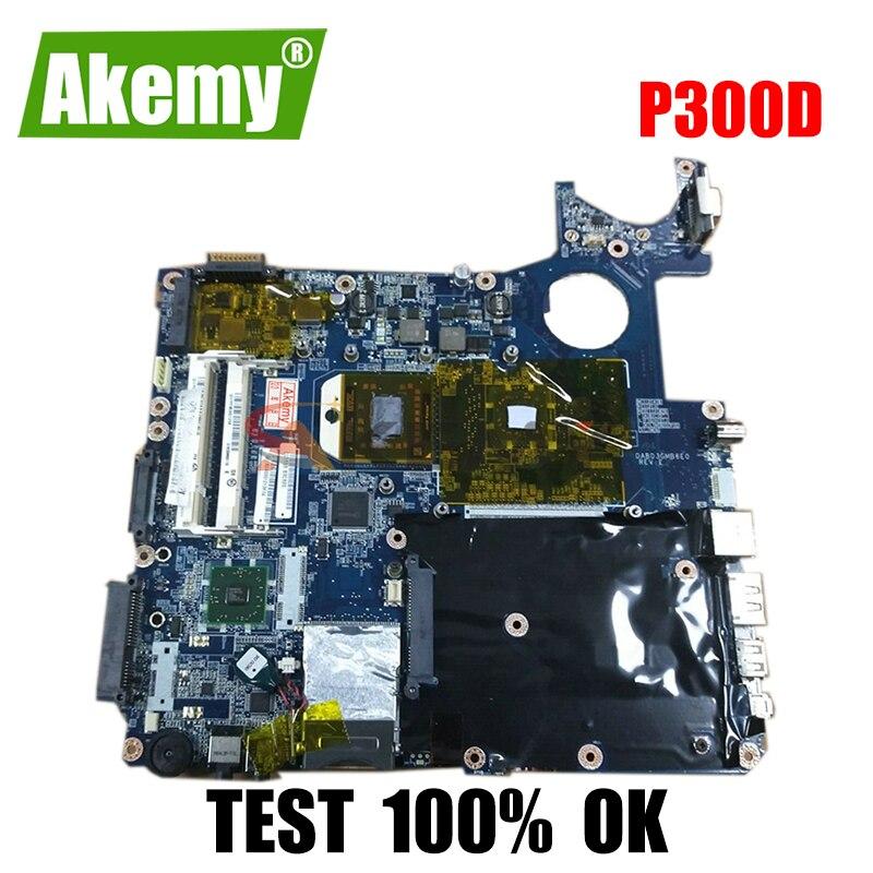 AKEMY لوحة أم للكمبيوتر المحمول توشيبا P300D seire A000038330 DABD3GMB6E0 DDR2 اللوحة الرئيسية وحدة المعالجة المركزية الحرة