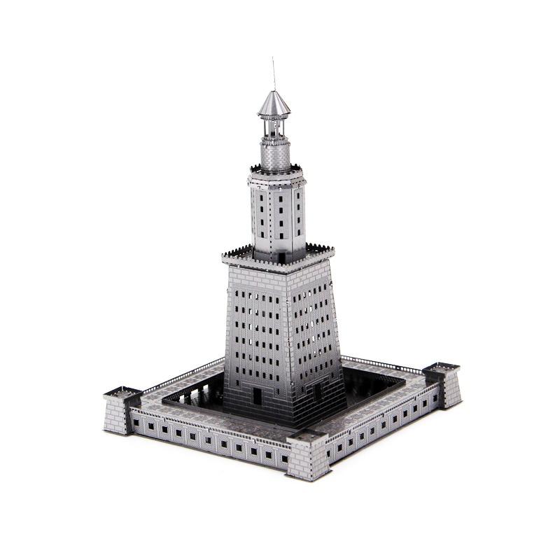 Rompecabezas 3D de metal de la Casa de la luz de Alejandra,...