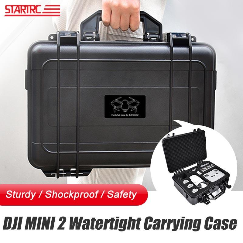 DJI Mini 2 المحمولة حمل صندوق ABS صندوق مقاوم للماء هارد شل سعة كبيرة الحال بالنسبة DJI Air 2S/Mavic Air 2 ملحقات طائرة بدون طيار