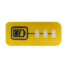 Li-ion Batterie LED Schlüssel Aufkleber Label-Tag Für DeWalt 14,4 V 18V 20V XR Flexvolt Lithium-Batterie DCB140 DCB182 DCB206 Elektrische Werkzeug