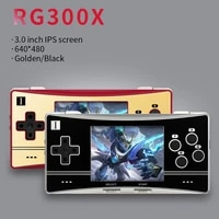 anbernic rg300x 2400 games 16g 64g portable retro game console min video games player for ps1 play station hd out kids gift