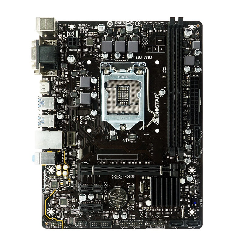 B360mhd Pro Motherboard Supports 8-Generation Core Processor NVMe Expansion enlarge