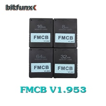 Bitfunx v1.953 FMCB bezpłatna karta McBoot dla Sony PS2 Playstation2 8MB/16MB/32MB/64MB karta pamięci