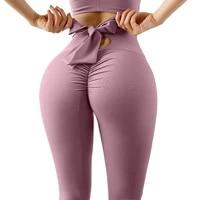 printed elastic seamless high waist sexy booty lifting leggings women fitness streetwear jogging peach hip trainning pants
