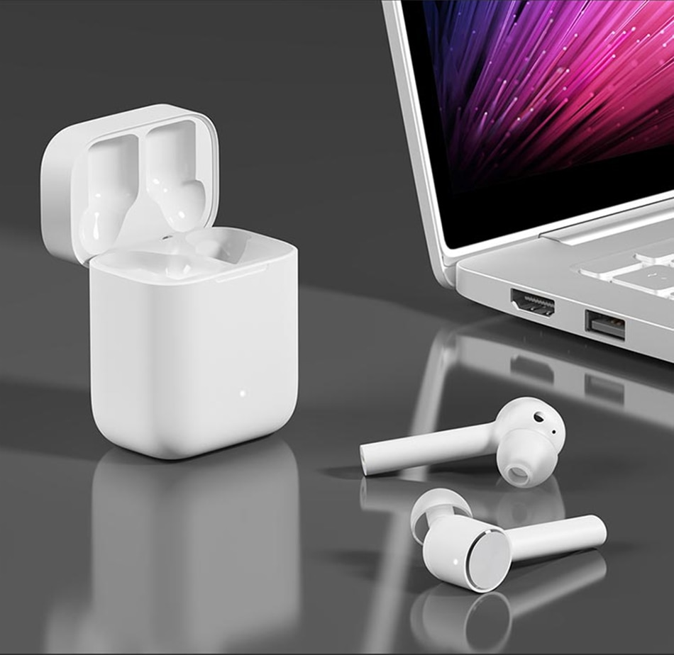Original Xiaomi Airdots Pro Mi Air Bluetooth Earphone Tws ANC Switch ENC HD Auto Pause Tap Control For IOS & Android phone Globa enlarge