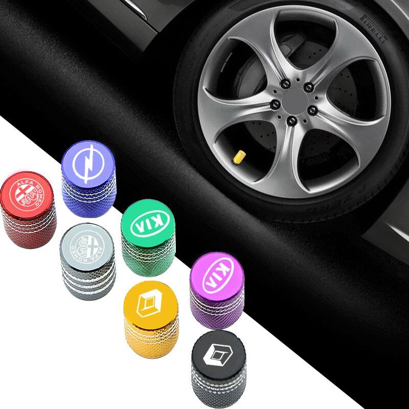 4 шт. Автомобильная эмблема клапан колеса шина воздушная заглушка кобура для Audis Sline TT TTS A4 B8 A3 8P B6 A6 B7 8V Q5 Q7 C5 A5 B5 A7 A1 B9 Q3