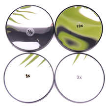 Makeup Mirror 3/5/10/15X Magnifying Mirror With Two Suction Cups Cosmetics Tools Round Mirror Magnification