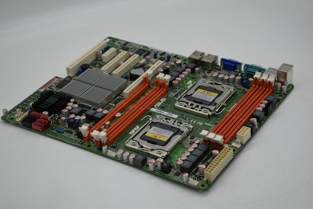 ASUS Z8NA-D6C LGA1366 Intel 5500 System Motherboard DDR3 24G PCI-E 16X USB2.0 ATX Quad Core Xeon X5500/Xeon E5500 Quad Core Cpus