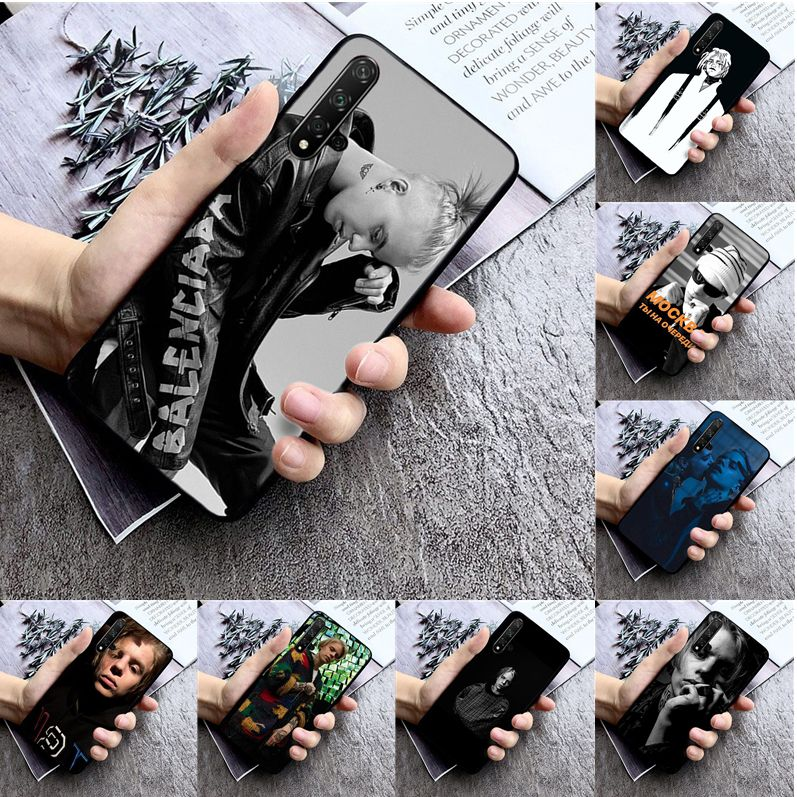 Russia hip hop rapper Pharaoh High Quality Silicone Phone Case for huawei nova 2 2i 2plus 2s 3i 3e 4 4e 5 5i pro case