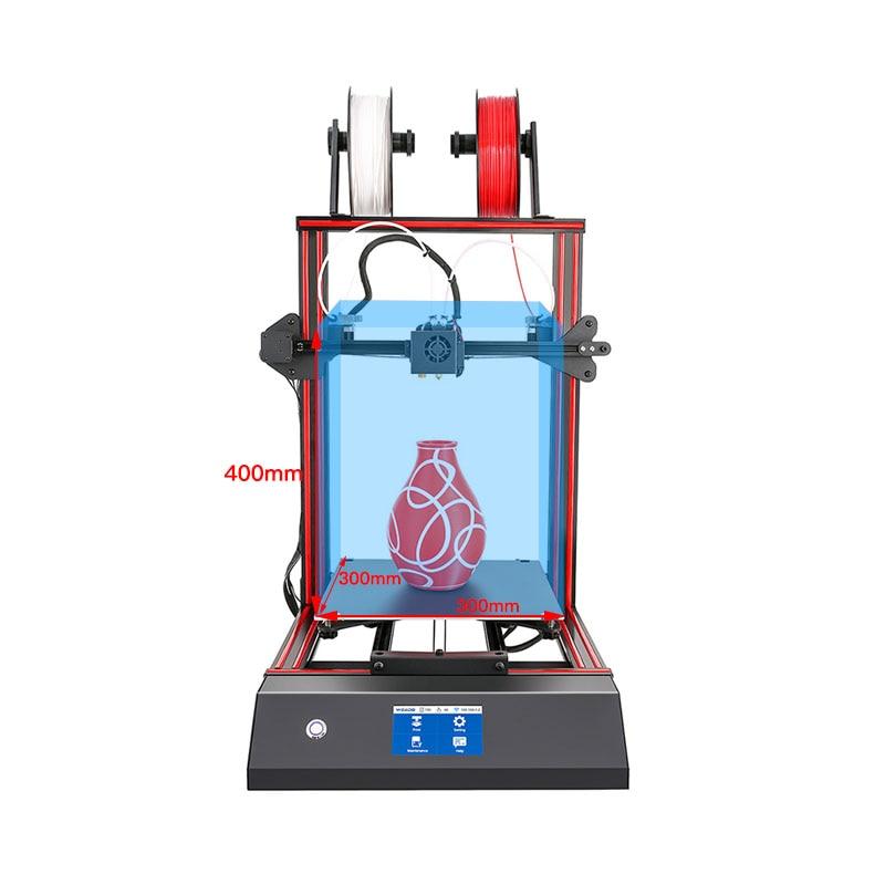 3d принтер 2 экструдер со сканером для продажи в Шри-Ланке ME40 Pro