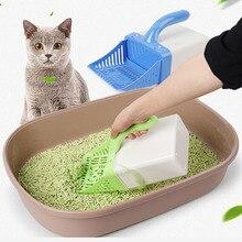 Лопата для кошачьего туалета, инструмент для очистки домашних животных, пластиковые чистящие средства, туалет для собак, ложки для еды, совок, мешок для кошачьего туалета, совок для песка