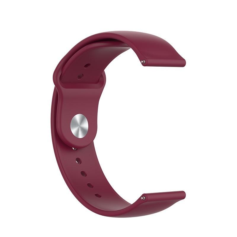 18mm sport strap for Fossil Gen 4 Q Venture HR / Gen 3 Q Venture Smartwatch repalacement bracelet strap for Huawei honor S1 belt