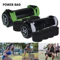15kg heavy duty weight sand power bag strength training fitness exercise cross fits sand bag body building gym power sandbag