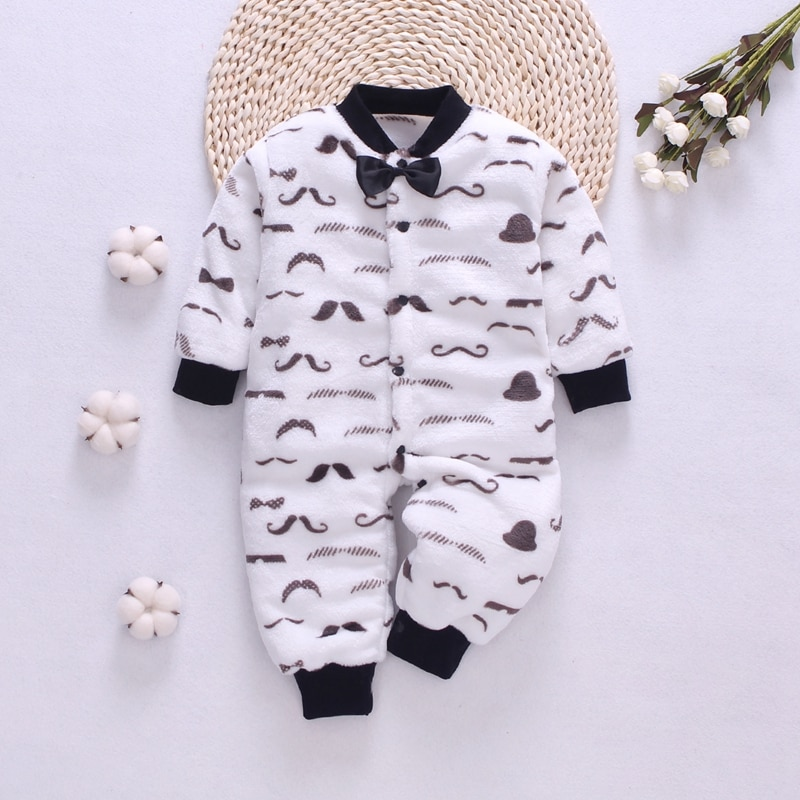 Baby winter clothes Flannel Baby romper soft Newborn Clothing Roupas Infant jumpsuit Baby rompers fo