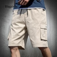 summer mens shorts loose fashion trend large size casual overalls sports shorts