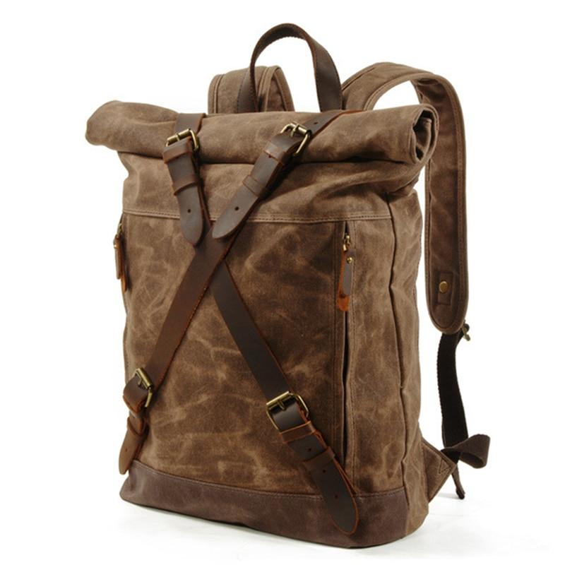 حقيبة ظهر رجالية متعددة الوظائف مضادة للسرقة ، للسفر في الهواء الطلق ، مقاومة للماء ، لتسلق الجبال
