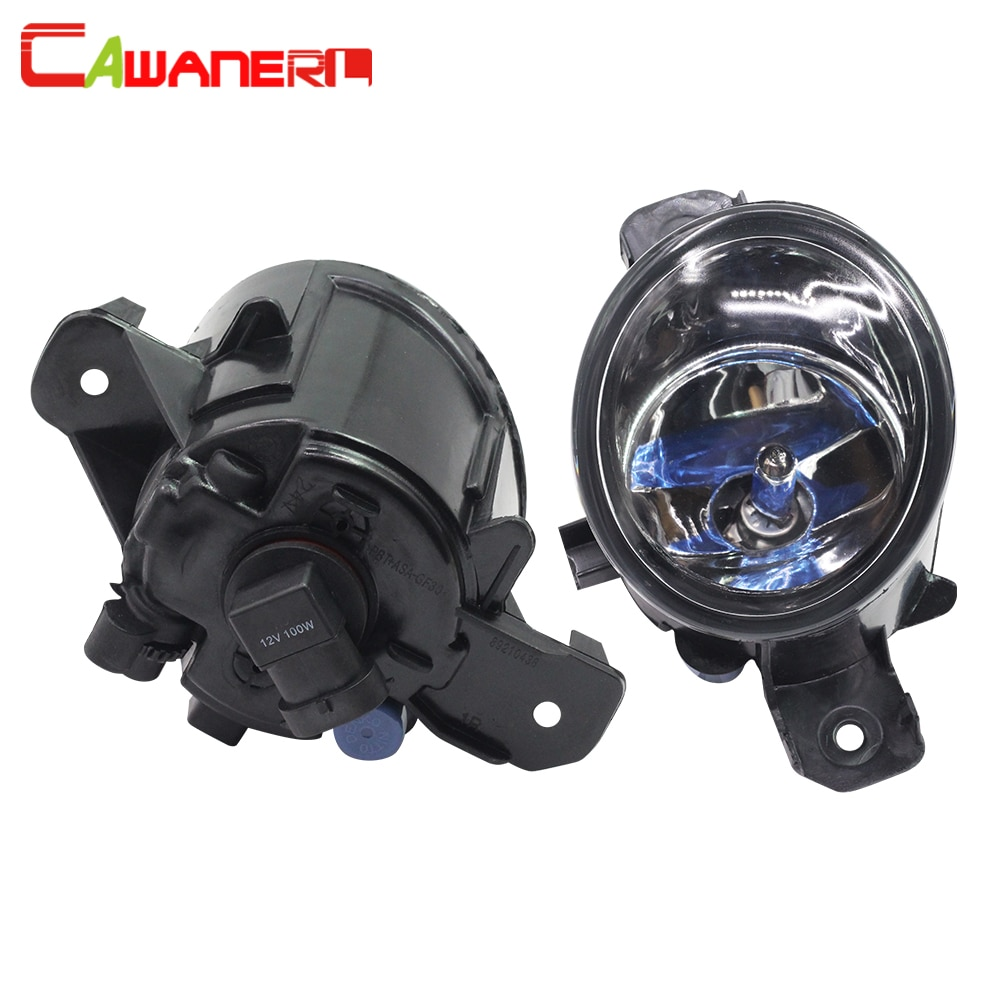 Cawanerl For Nissan NV400 2011-2015 100W H11 Car Styling Halogen Bulb Fog Light Daytime Running Lamp DRL 12V 2 Pieces