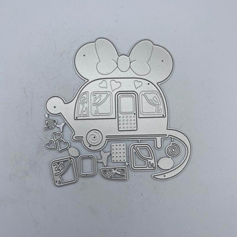Металлические Вырубные штампы RV для «сделай сам» скрапбукинга альбома тиснения бумажных открыток декоративные ремесла вырубки