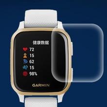 5pcs Soft TPU Clear Protective Film Smartwatch LCD Guard For Garmin Venu SQ Music Sport Smart Watch