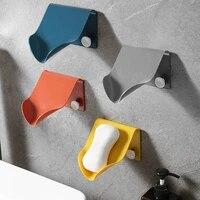 Boite a savon murale sans couture  salle de bain  menage  trou de Drainage  boite libre  rangement de finition  supports solides