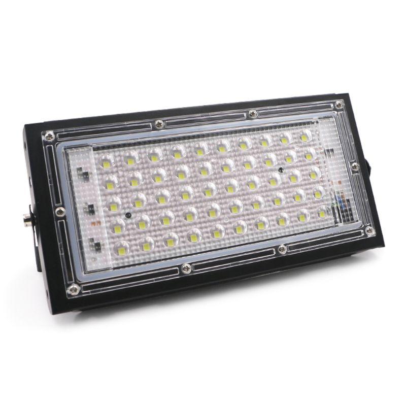 Reflector LED para exteriores de 50W, Reflector para lámpara de pared con arandela IP65, iluminación impermeable para jardín, RGB, luz de inundación AC 220V 240V