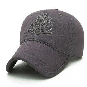 бейсболка Embroidery Letter Baseball Cap Cotton HipHop Dad Hat Couple Pure Black White Snapback Cap Men Women Sport Hat