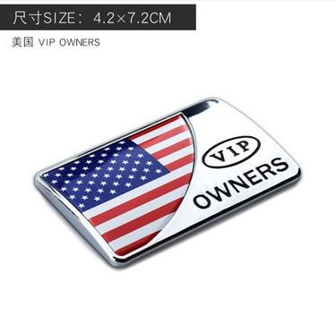 3D металлический американский флаг США Автомобильная эмблема значок наклейка на мотоцикл обтекатель автомобильные аксессуары