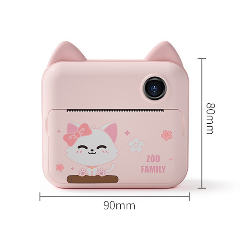 Children Camera Child Instant Print Camera for Kids Birthday Gift 12MP Cartoon Cute Photo Video Digital Camera with Print Paper enlarge