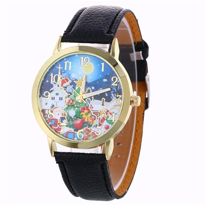 Moon Christmas Eve Elderly Analog Quartz Vogue Watches Envio Gratis New Ornaments Decoration Merry Christmas Happy New Year W enlarge