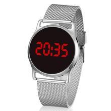 Nouveau LED or montres numériques Bracelet enfants femmes Montre hommes Montre-Bracelet électronique sport choc mode horloge Montre Femme