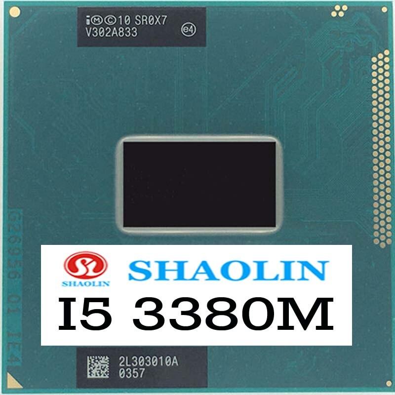 I5-3380M i5 3380 متر SR0X7 2.9 جيجا هرتز ثنائي النواة رباعية الموضوع معالج وحدة المعالجة المركزية الأصلي شاولين النسخة الرسمية الأصلي شحن مجاني