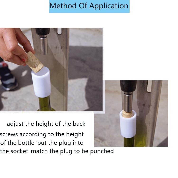 Manual press bottle corking manual stopper machine glass bottle cork pressing machine enlarge