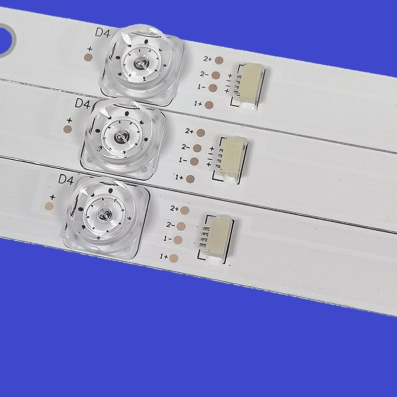 LED الخلفية TCL D43A810 L43E5800A-UD OEM43LB06 LED3030F2.1 V1.2 4C-LB4308-ZM02J